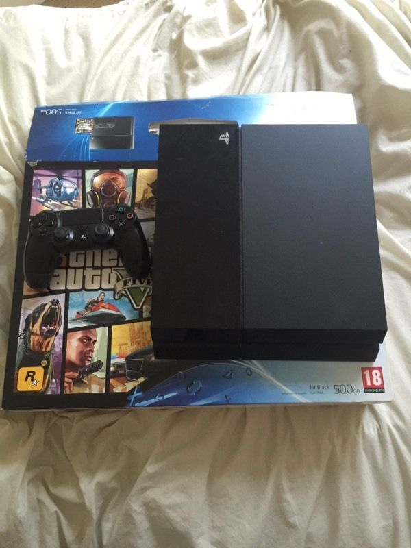 Ps4 with box pro evo 16 with controller 500gb