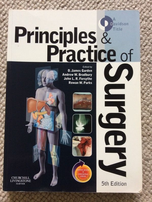 Principles and Practice of Surgery. Fifth Edition.