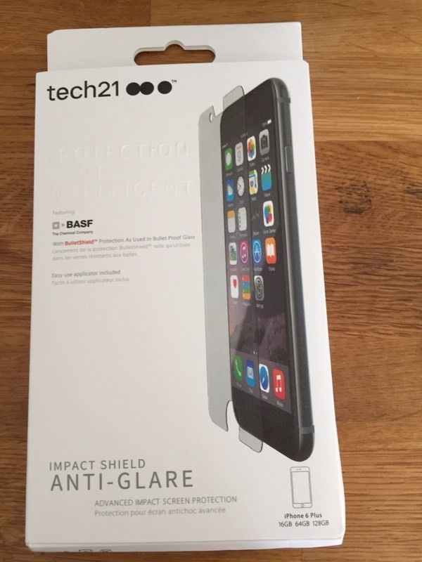Tech21 Anti glare impact shield iPhone 6 Plus