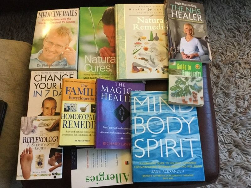 Selection of health books