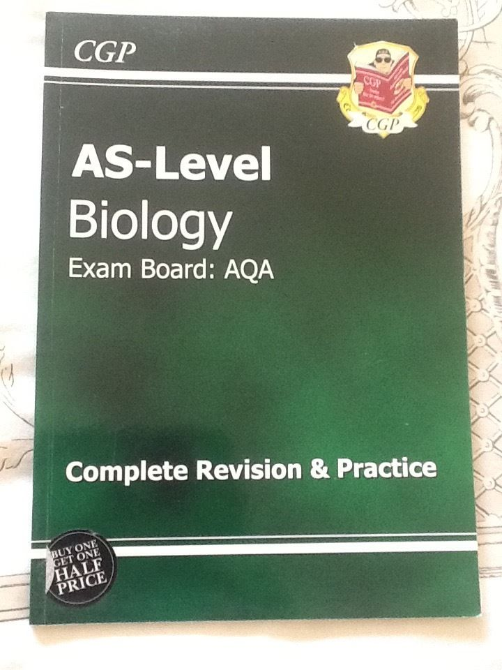 AS Level Biology AQA CGP Complete Revision and Practice