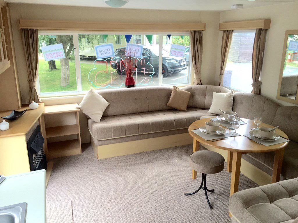 CHEAP STATIC CARAVAN ISLE OF WIGHT ROOKLEY COUNTRY PARK FINANCE AVAILABLE