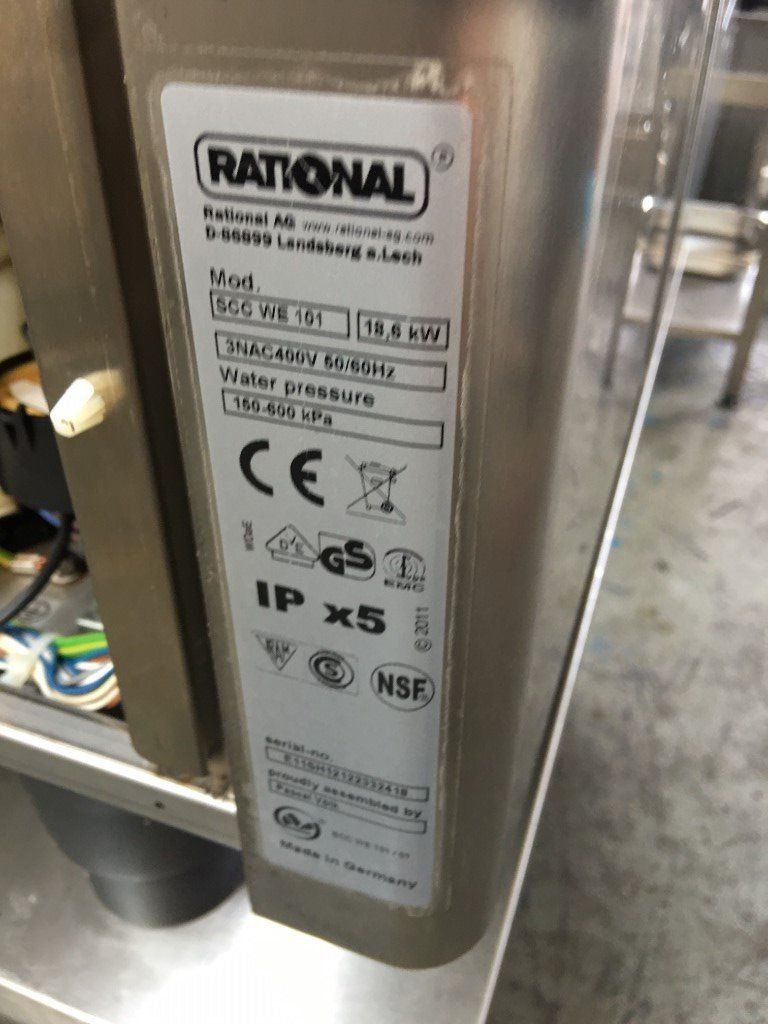 Rational 10 Grid Electric SCC WE SCC101E Oven (2012) with 6 months guarantee