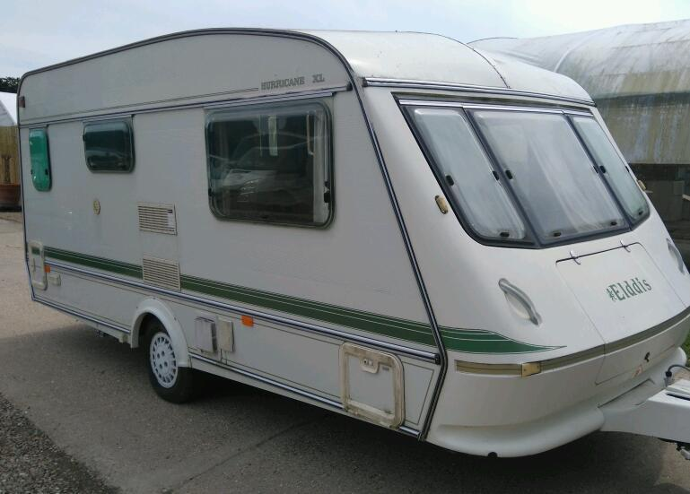 1993 elddis hurricane xl 2 berth light weight comes with extras