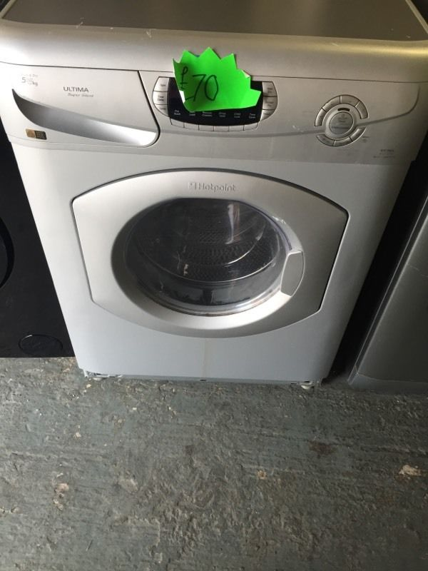 Hotpoint 5+5kg washing machine