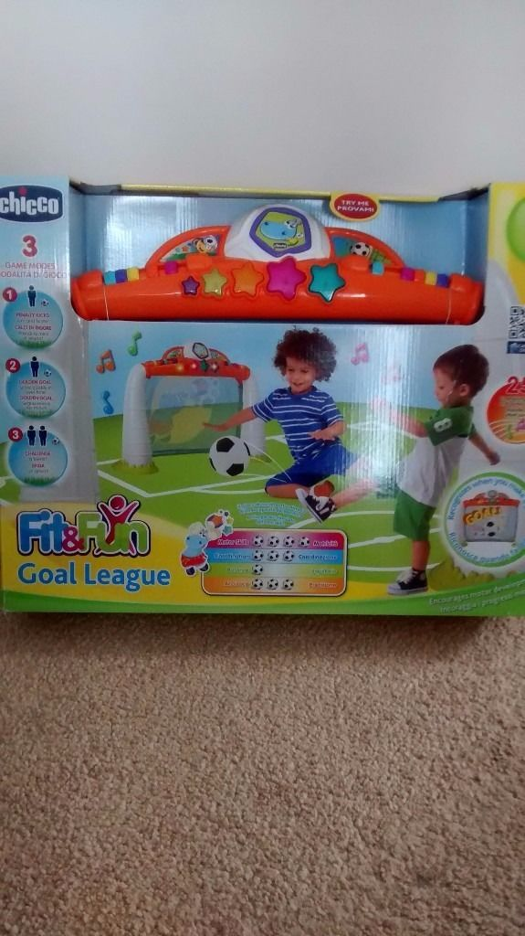 Chicco Fit and fun penalty goal league infant football goal