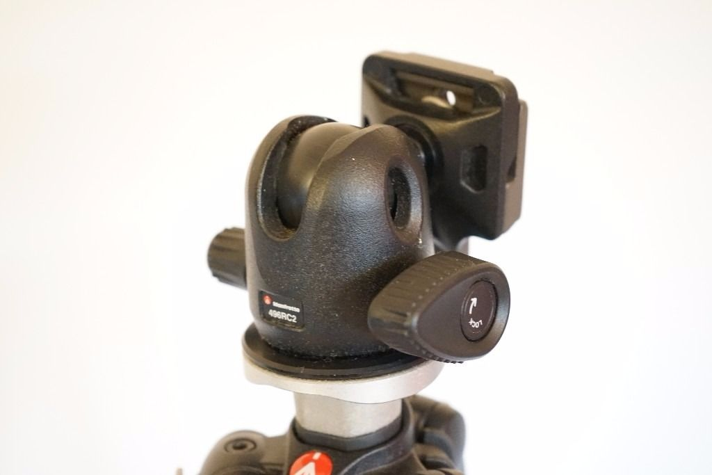 As NEW Manfrotto Tripod and Head for Sale