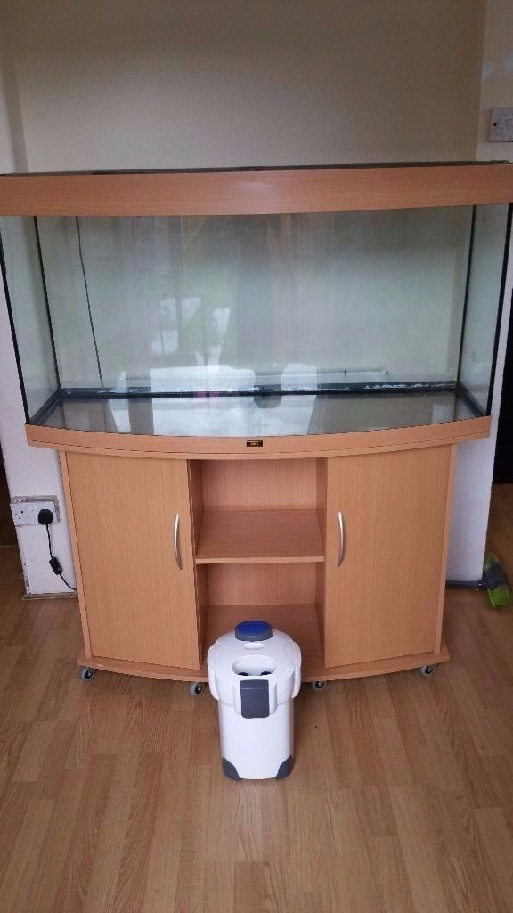 Juwel vision fish tank and stand 260 litre and external filter