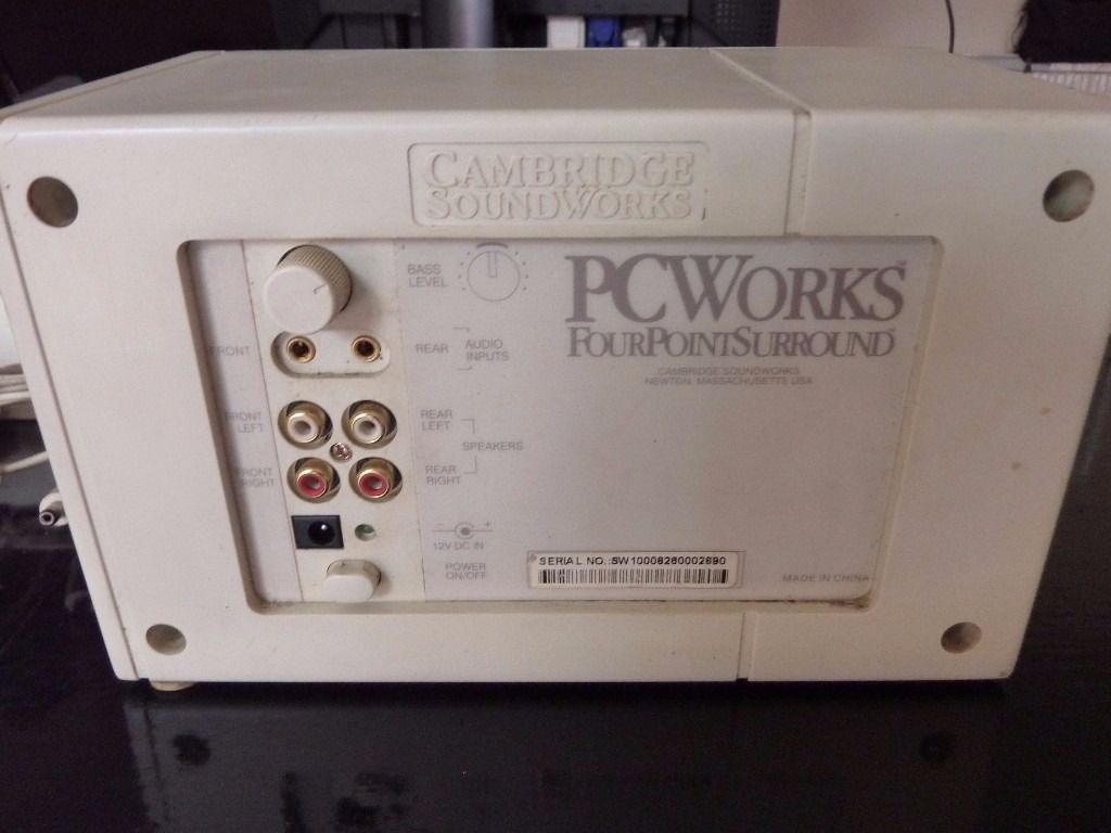 cambridge soundworks 4.1 amp & speakers fps1000 surround sound