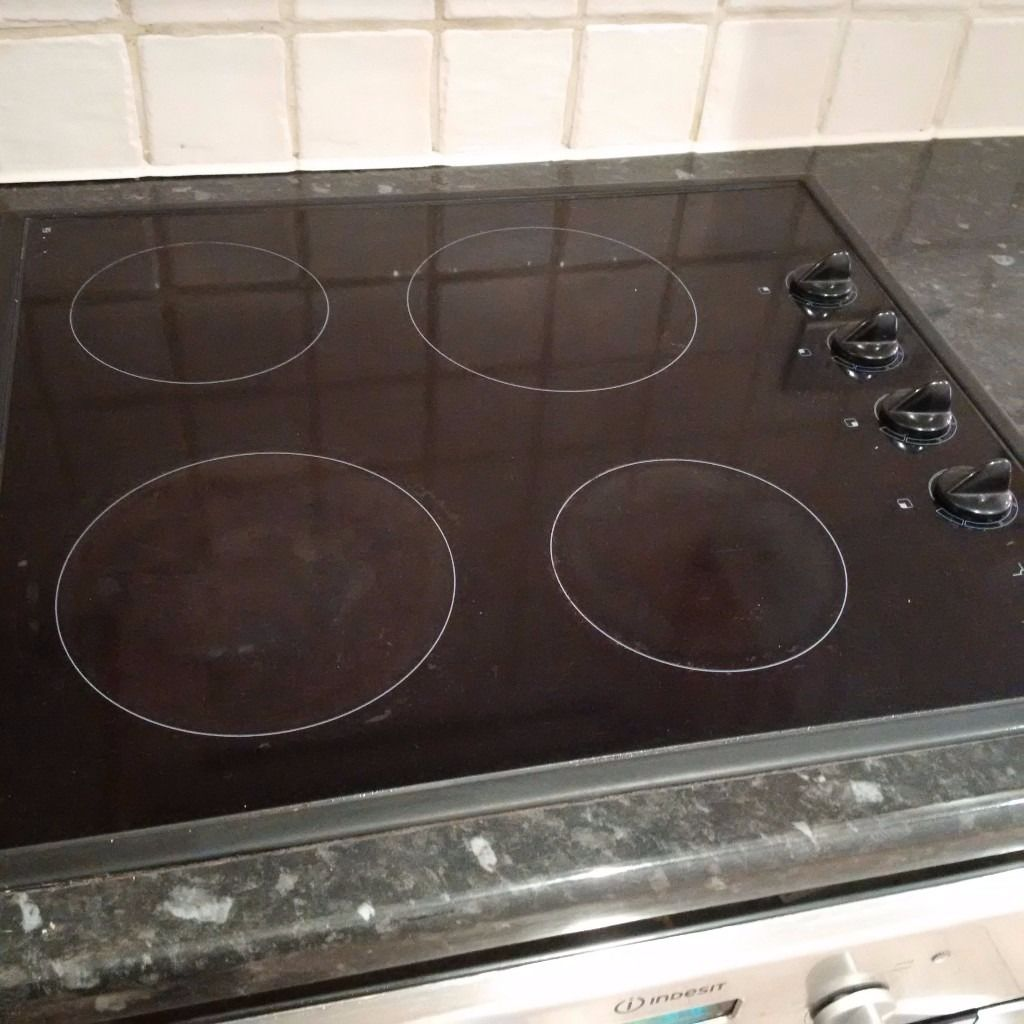 four zone electric ceramic hob in very good condition