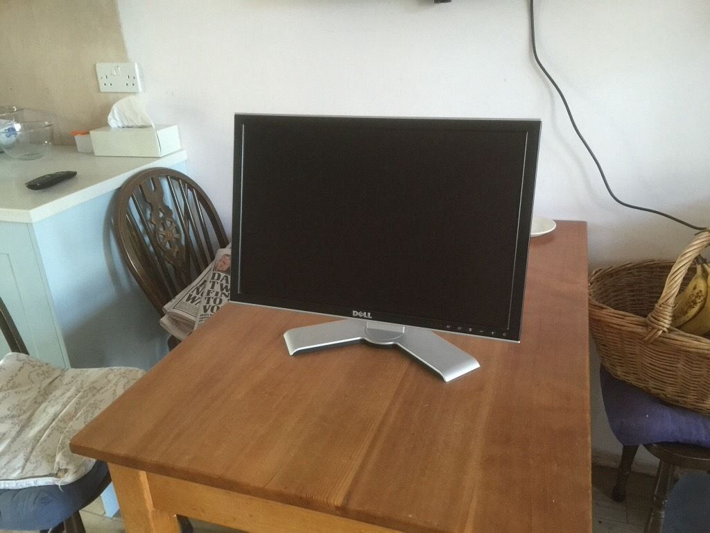 Dell Ultrasharp widescreen monitor S/H