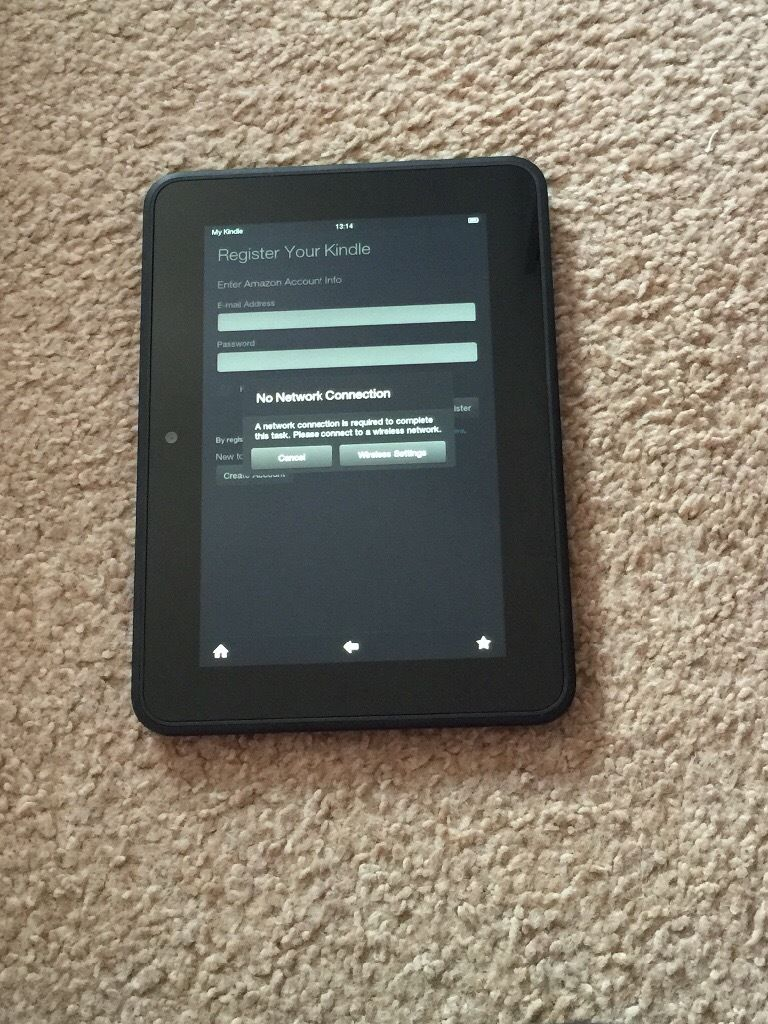 Kindle Fire HD 7 inch, 16GB memory, Wi-Fi