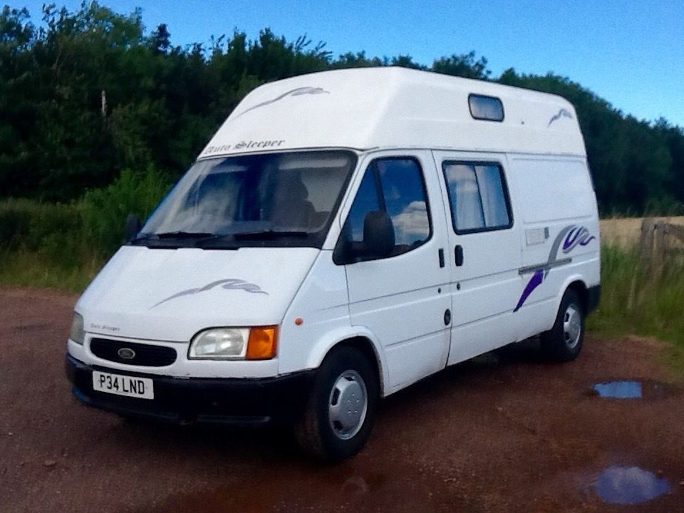 Ford Transit, but not the normal ford transit.11.months MOT.