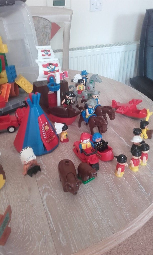 Large Collection Of Lego