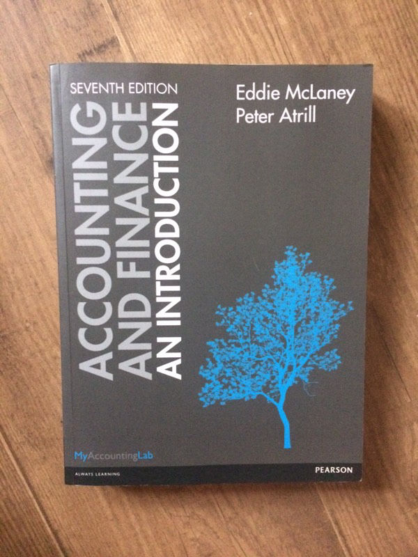 Accounting and Finance: An Introduction - Eddie McLaney