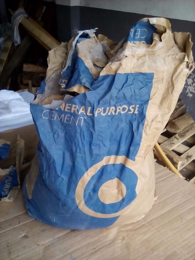Bag of general purpose cement. Free.