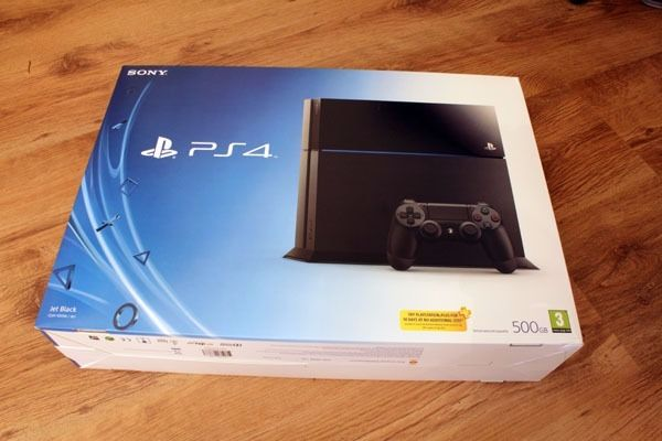 BOXED 500GB BLACK PS4!!!