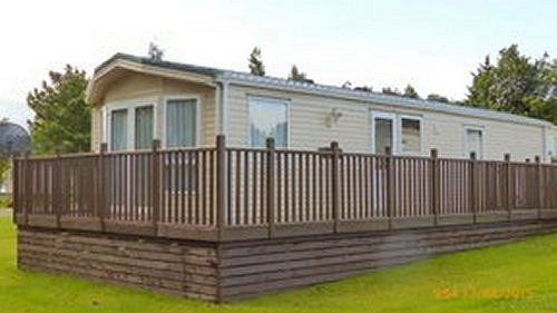"WINCHESTER WILLERBY STATIC CARAVAN, SLEEPS 6 36"" X 12"" HARDLY USED, MOY, NEAR INVERNESS, QUICK SALE"