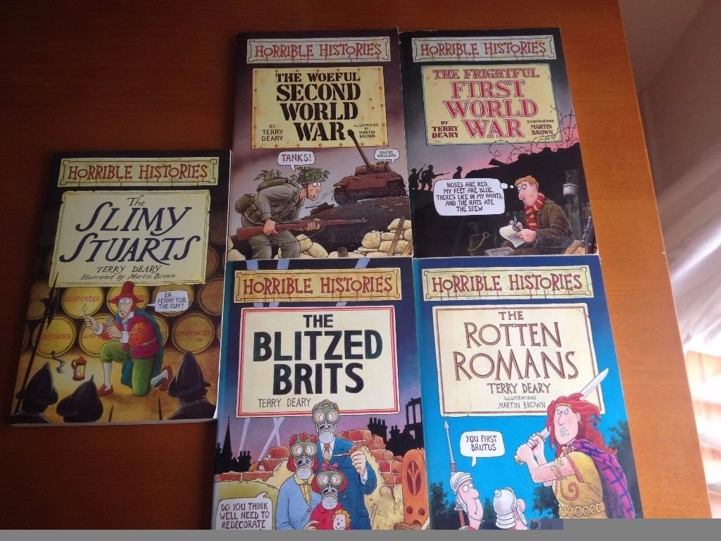 Horrible Histories/The Knowledge Books