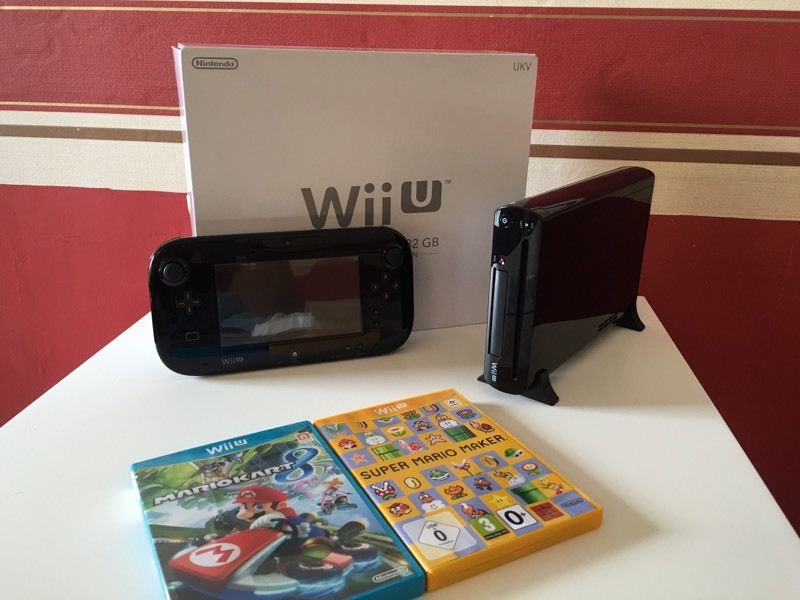 Nintendo wii u and 6 games