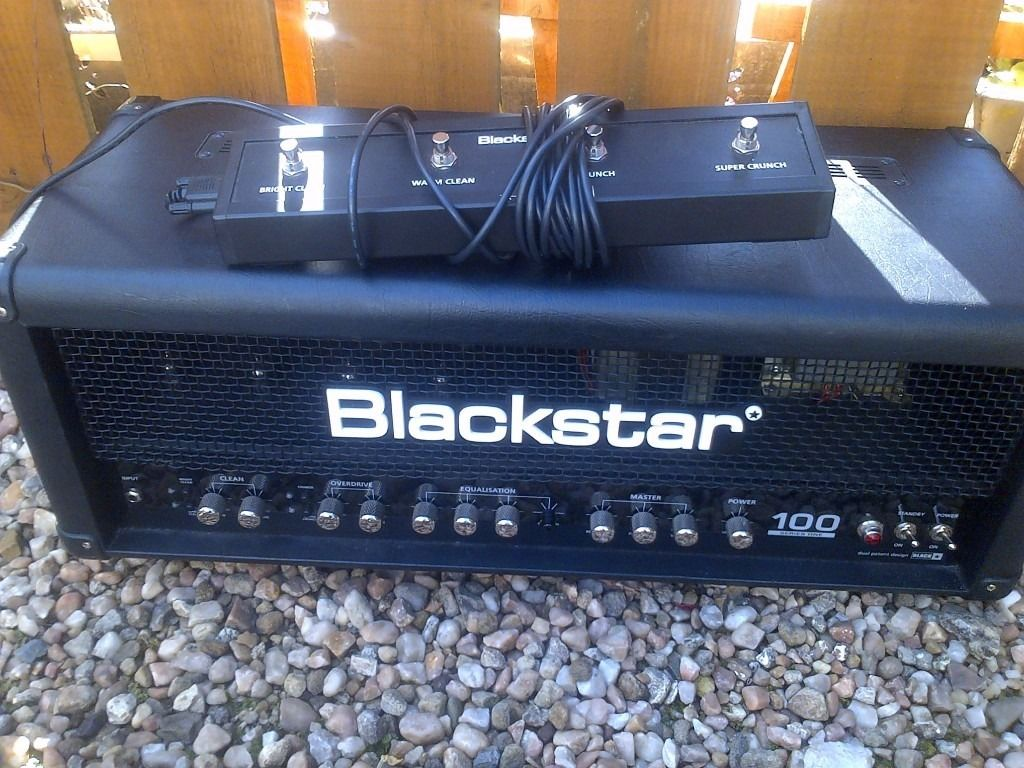 Blackstar S1 100 with footswitch