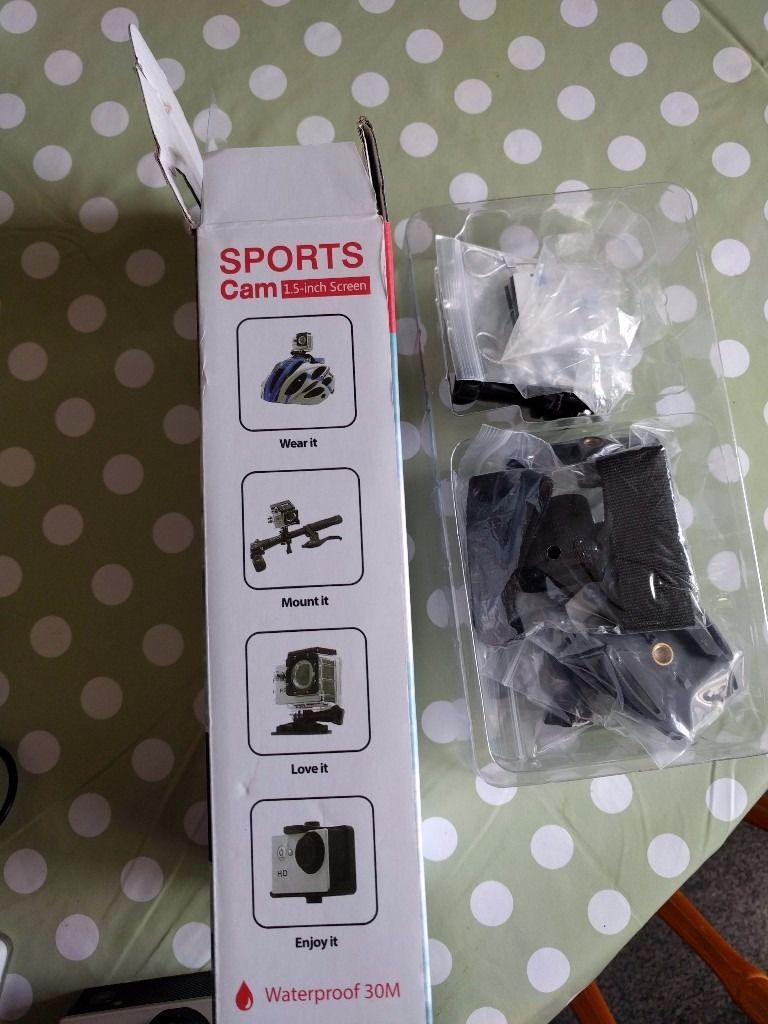 Sports water proof camera