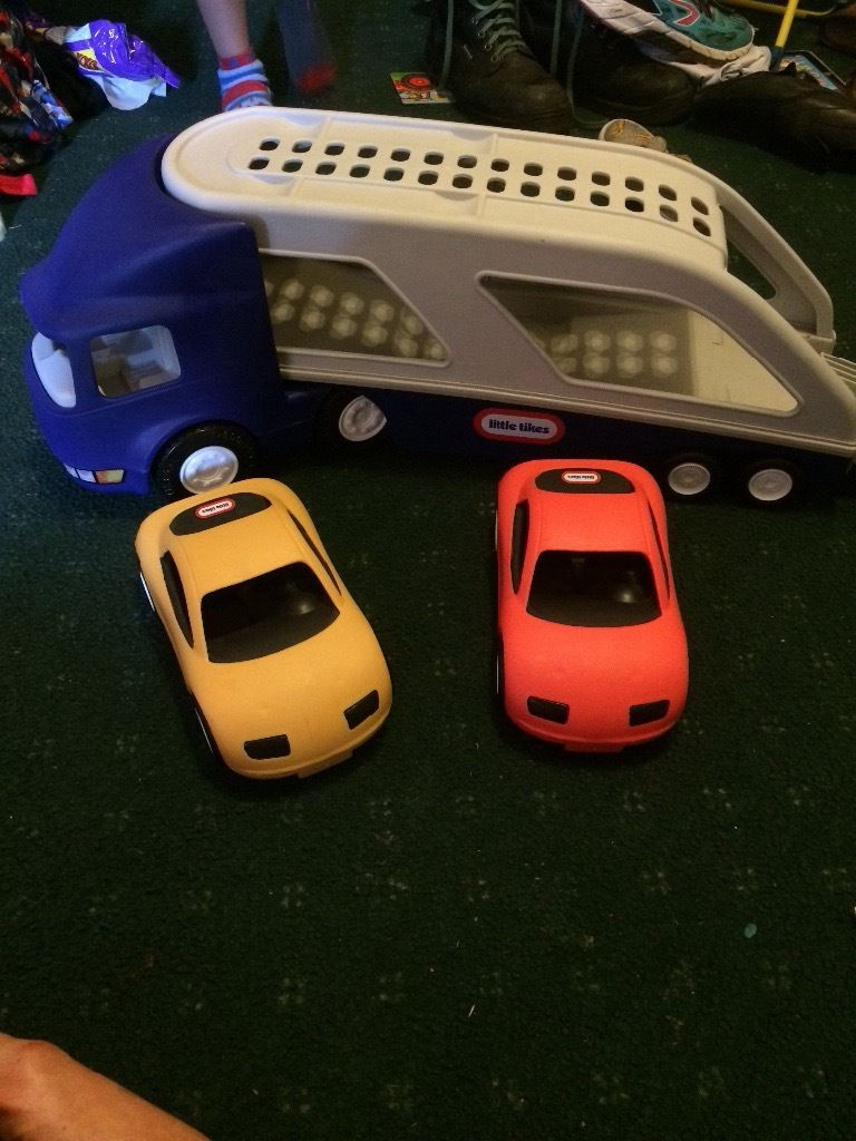 Little tikes car loader lorry
