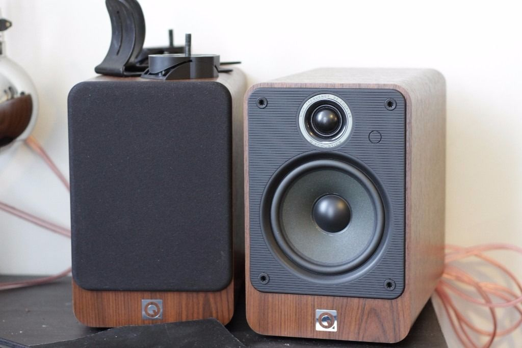 Q Acoustics 2020i and Denon AV Surround Reciever