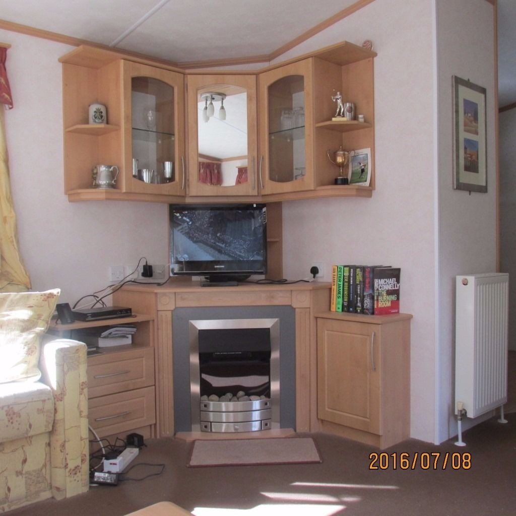 Static Caravan in lovely rural setting.
