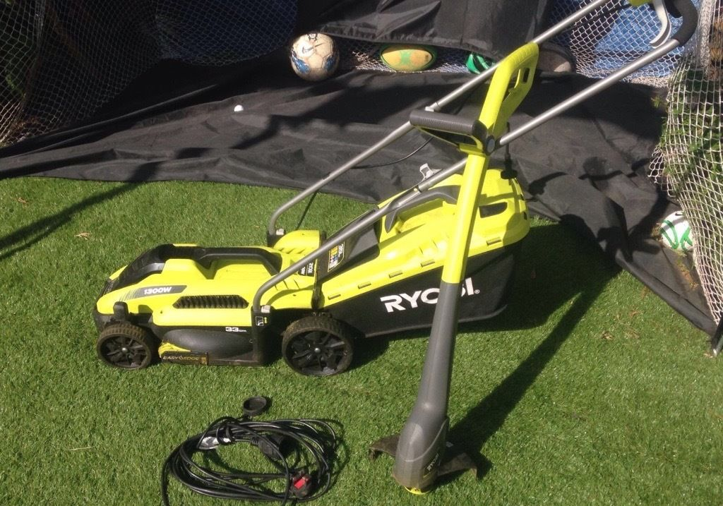 Ryobi Electic Mower and Strimmer