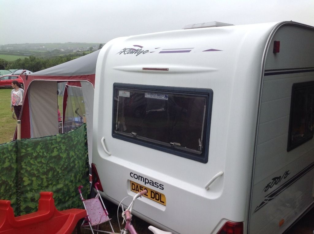 Compass rallye 500/5 2001 5 berth full awning everything you need motor mover very clean