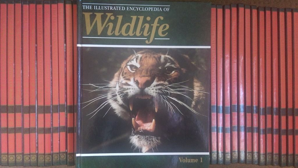 The Illustrated Encyclopedia of Wildlife - complete collection of 62 books