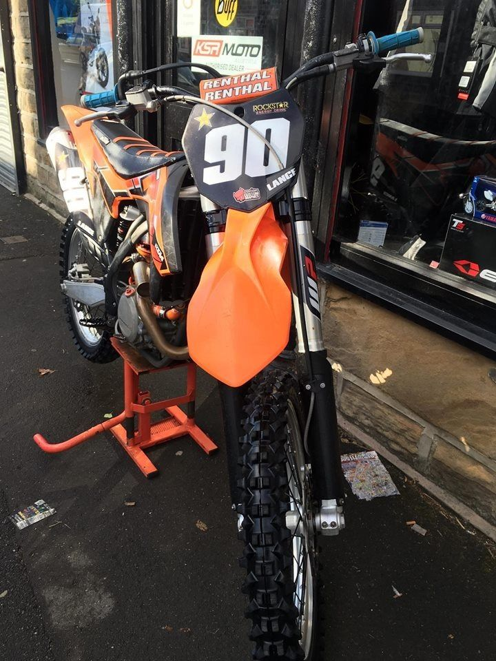 KTM SXF 250 2014, very well looked after