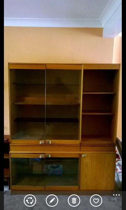 Diaplay cabinet