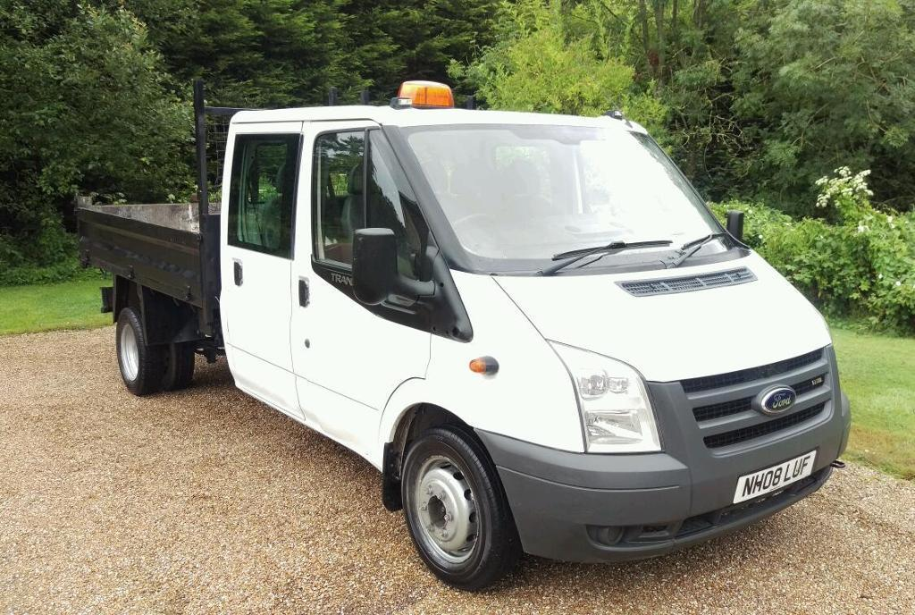 FORD TRANSIT TIPPER 2008 1 OWNER ONLY 108 K FULL SERVICE HISTORY