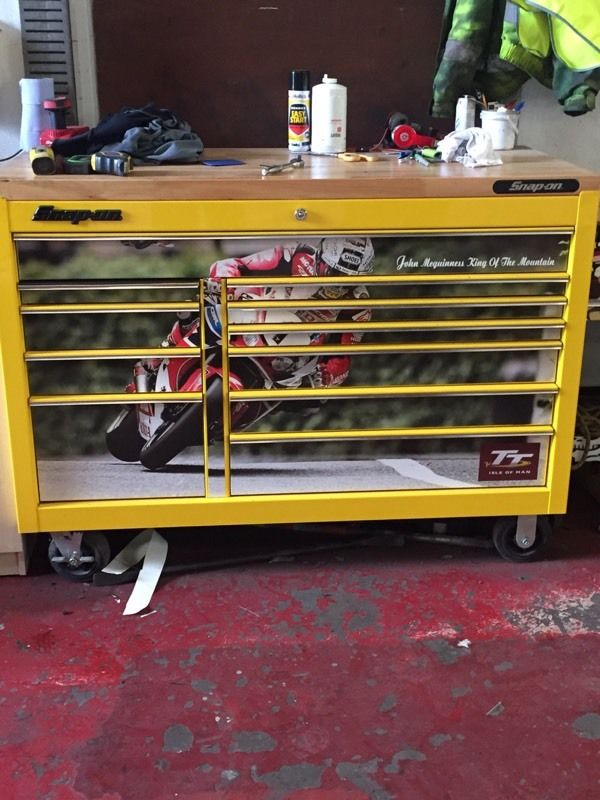 Snap on large tool box