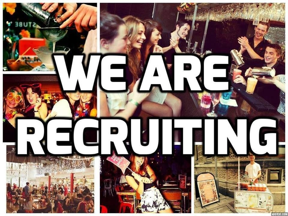 Full and Part Time Bar & Waiting Staff Required - Immediate Starts available