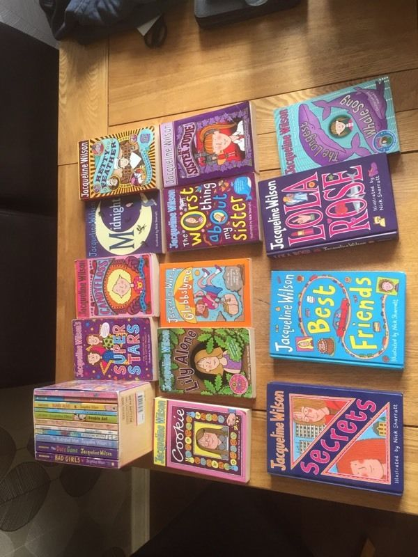 Jacqueline Wilson children's books