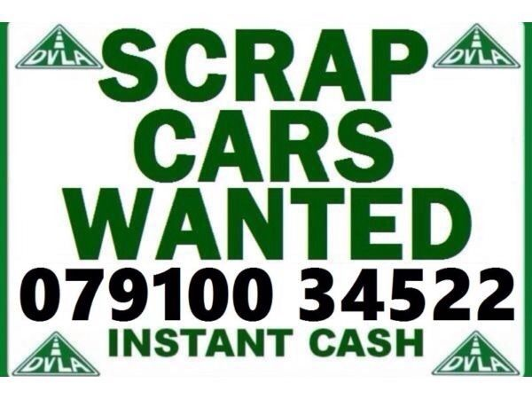 079100 34522 WANTED CAR VAN 4x4 BIKE SELL MY BUY YOUR SCRAP FOR CASH