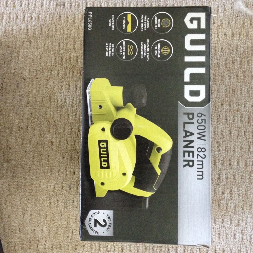 Brand new electric planer