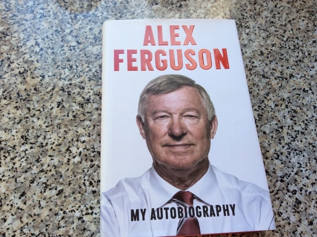 Alex Ferguson My Autobiography 2013 immaculate condition