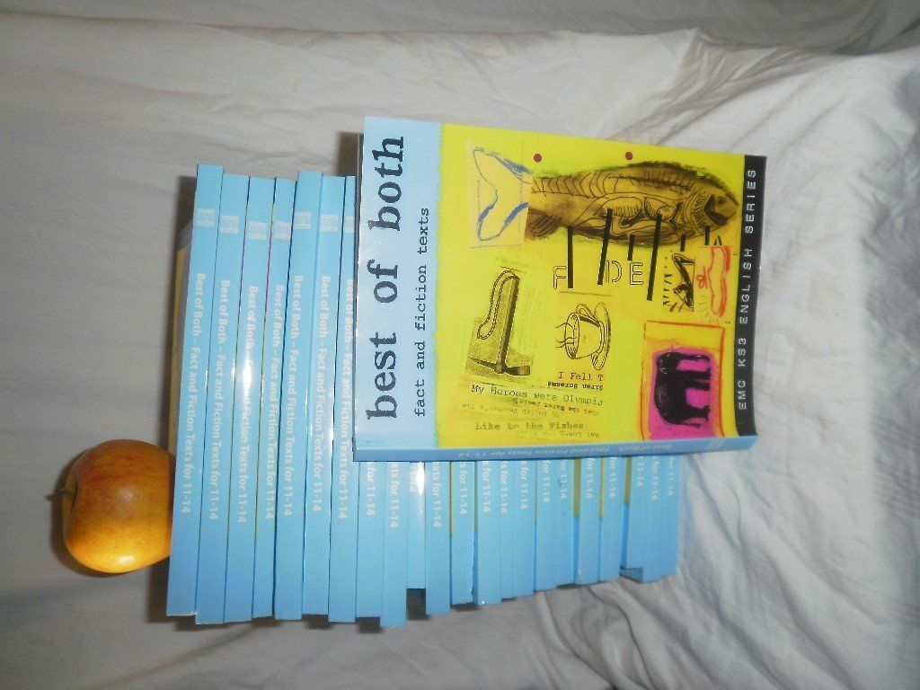 "Collection of fiction and non-fiction: ""Best of Both"". Full classroom set (30 copies) Brand new!"