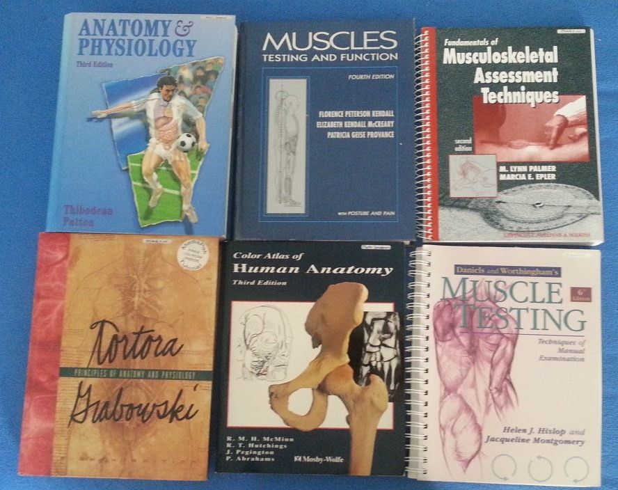 Anatomy and Physiology academic books