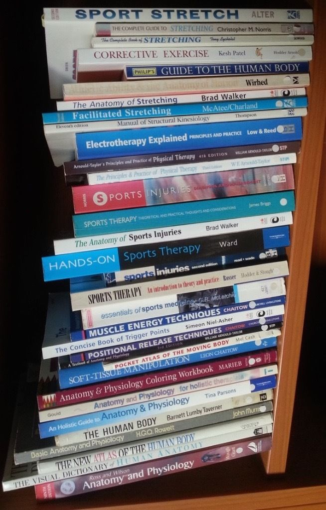 Sports Therapy and Massage books