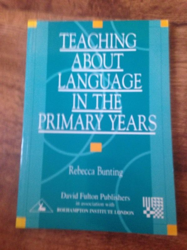 Teaching About Language in the Primary Years