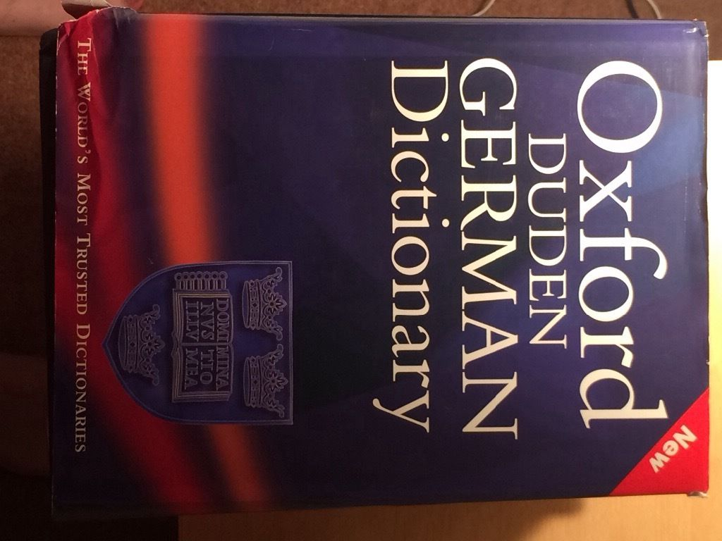 Large Oxford German Dictionary