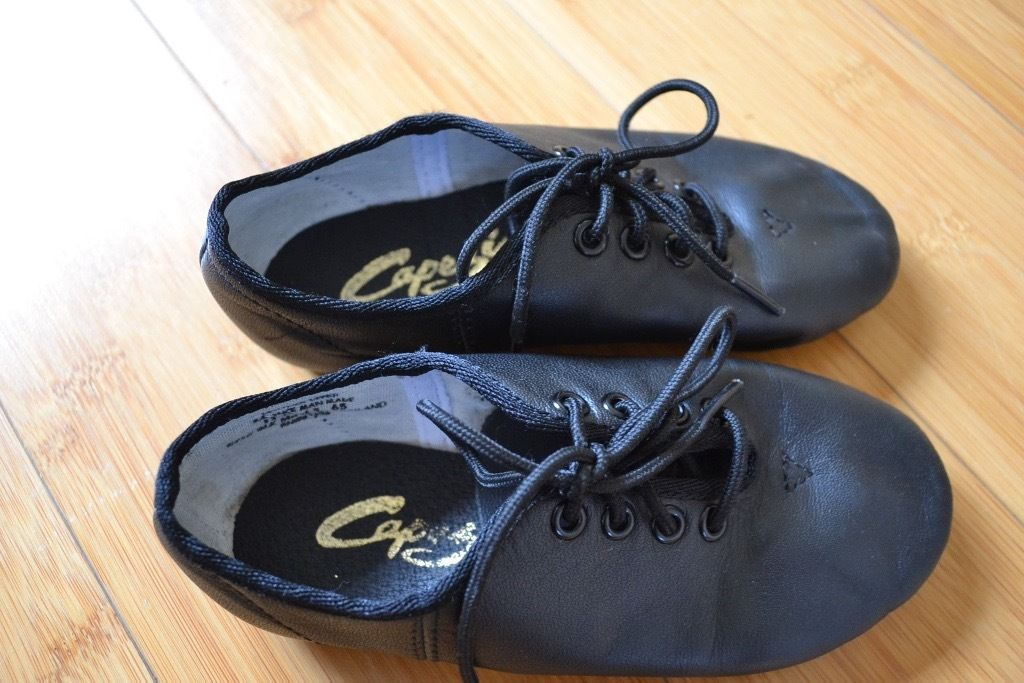 Girl's dance shoes from Capezio size 8.5