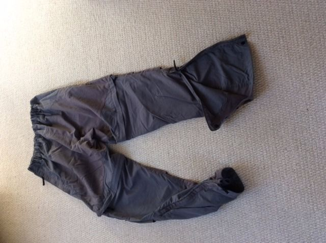 Convertible Montane Terra Pants - mens small