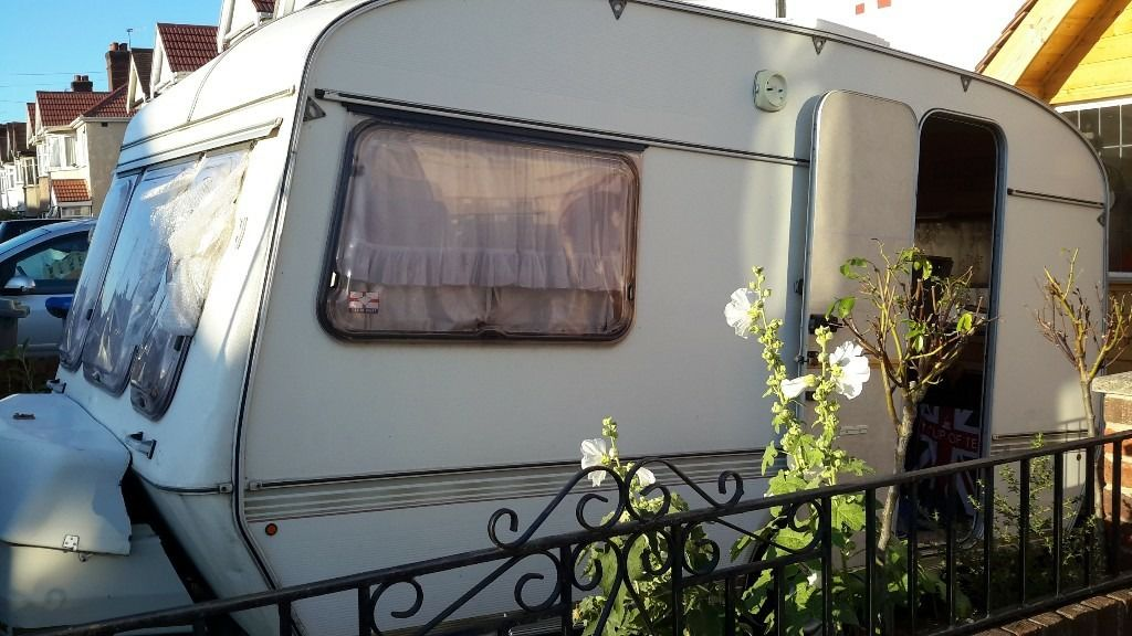 2 birth eccles topaz caravan for sale in London nw9 needs some repairs hense the price