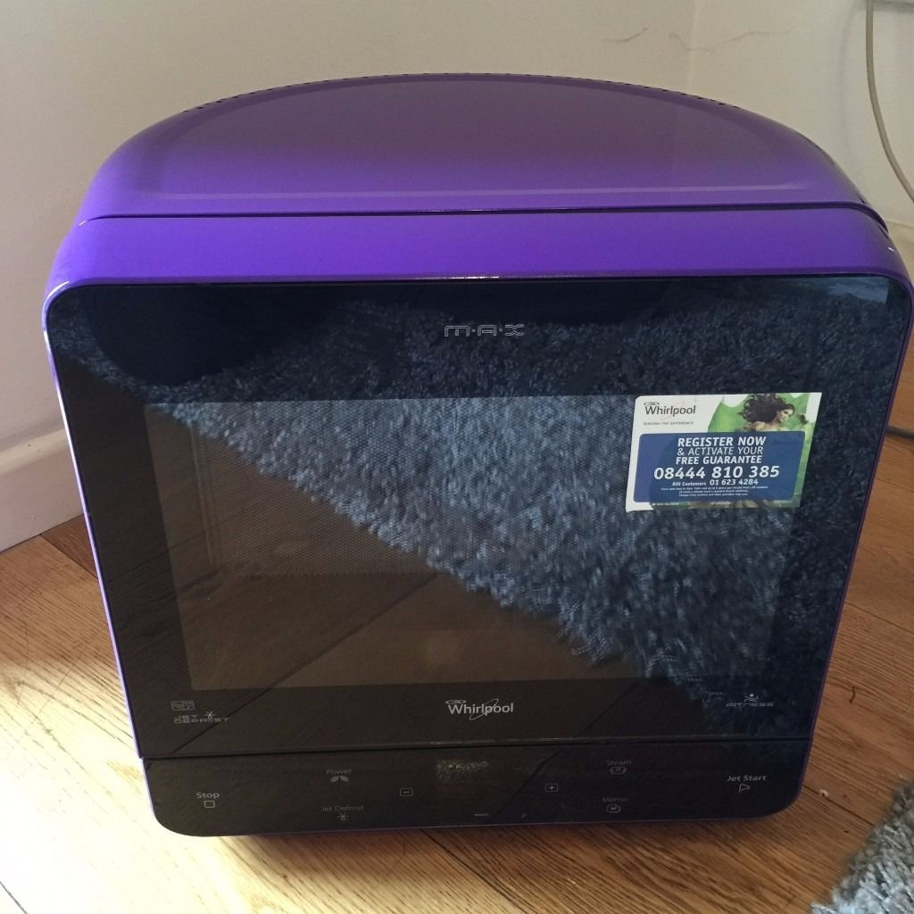 Whirlpool MAX 35 Microwave with Steam Function - purple (sold out item in amazon!)